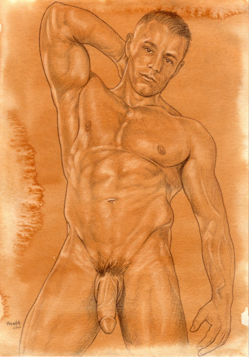 Filed under: Male Nudes ? Tags: drawing, figure, fine art, gay drawings, gay ...