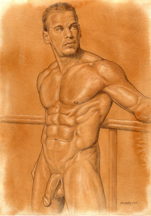 Filed under: Male Nudes ? Tags: figure, fine art, gay, male nude art, Male ...